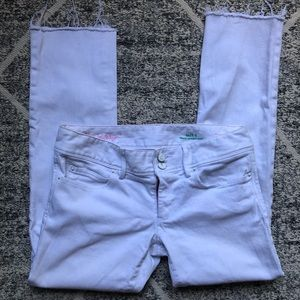 White Lilly Pulitzer Jeans